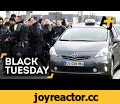 'Black Tuesday' Brings Riot Police And Tear Gas To Paris Streets,News & Politics,france protests,paris protests,black tuesday,cab drivers,cab protest,cab protest paris,uber protest,news,aj+,ajplus,al jazeera,RT,paris,france,France has been hit by nationwide protests by public-sector workers who are