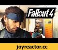 Big Boss Fails at Fallout 4,Gaming,fallout 4,mod,metal gear solid v,fallout 4 mod,mod fallout 4,solid snake,fallout 4 MGS V,fallout 4 metal gear mod,metal gear mod fallout 4,fallout 4 solid snake,MGS V,quiet,fallout 4 mods,tyrannicon,mods,machinima,Big Boss makes an appearance in Fallout 4.