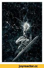 silver surfer / roger cruz / wcrtercolcr / gouache