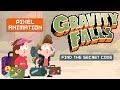 Gravity Falls Pixel Intro - 8bit,Entertainment,luiz,teixeira,joice,moretto,doisdi,desenhando,jomoretto,lukatesi,arte,art,desenho,drawing,dibujo,design,ilustração,speedpaint,birigui,gravity fa