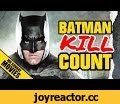 Batman BATMAN V SUPERMAN Movie Kill Count Supercut,Entertainment,Batman Kill Count,Batman Batman V Superman Kill Count,Batman V Superman kill Cut,batman killing,does batman kill,has batman killed,batman v superman kill montage,batman supercut,SUBSCRIBE HERE ►► http://bit.ly/1IQB3kh Ben Affleck's Bat