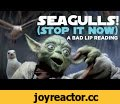 """SEAGULLS! (Stop It Now)"" -- A Bad Lip Reading of The Empire Strikes Back,Comedy,bad lip reading,yoda,song,sing,funny,comedy,lip dub,star wars,luke skywalker,lip sync,empire strikes back,Yoda is not fond of seagulls. Full-length version of the song first seen here: https://youtu.be/UkiI2vM2lfA"