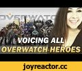 VOICE IMPRESSIONS OF ALL OVERWATCH HEROES!,Gaming,overwatch,voice,acting,impressions,heroes,champions,team,tracer,widowmaker,mercy,reaper,genji,hanzo,junkrat,roadhog,lucio,symmetra,blizzard,elspeth,eastman,actor,I tried with this one, fam. Also, I love me some Zarya. I'm pretty good at Overwatch.*
