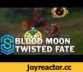 Blood Moon Twisted Fate Skin Spotlight - Pre-Release - League of Legends,Gaming,Blood Moon Twisted Fate,Skin Spotlight,Twisted Fate,Blood Moon,gameplay,preview,League of Legends,Twisted Fate Champion Spotlight,Blood Moon Twisted Fate Skin Spotlight,Blood Moon Twisted Fate Skin,SkinSpotlights Blood