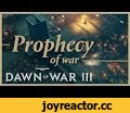 Dawn of War III - Prophecy of War,Gaming,,It's a race to the pointy stikk as Gabriel Angelos, Farseer Macha, and Gorgutz 'Ead'unter command their massive armies in a search for a mythical weapon that can control the fate of their races! With the Space Marines, Eldar, and Orks all hunting for the sam