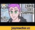 Zarya Goes Shopping: An Overwatch Cartoon,Film & Animation,animation,gaming,overwatch,The older shops in town have some great merchandise... I apologize to anyone who actually knows Russian. The translations are way off, and by that I mean completely wrong.