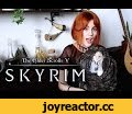 TES V: Skyrim - Ragnar the Red (Rus) Gingertail Cover,Music,TES,The Elder Scrolls,Skyrim,Cover,Bard song,Ragnar the Red,Skyrim Songs,Alina Gingertail,OST,Soundtrack,Guitar,Bouzouki,Whistle,Алина Рыжехвост,Кавер,Скайрим,Рагнар Рыжий,песня бардов,барды скайрима,песня,Жил да был Рагнар Рыжий, героем он