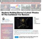 = DEADLINEHOLLYWOODFILMHackers Holding Disney's Latest 'Pirates Of The Caribbean&... I1CW UIII■ riimi исаэип i/сшиэ ш i iuvv ivciiuwai was uimuiicu Á  Hollywood Mourns Brad Grey; Time For A Governors Award? FOX NR Г Fox& NBC Upfronts: Schedules, Trailers & More ^^ i MSNBC Gets Rar