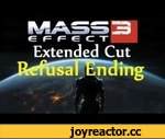 Mass Effect 3 EC | New Refusal Ending,Games,Mass,effect,Extended,cut,EC,Extra,new,dlc,26th,june,ending,refusal,destroy,synthesise,controll,liara,everyone,dies,shepard,dialogue,cutscene,Mass Effect 3 (Video Game),xbox,360,pc,ps3,origin,Subscribe for more!  Will fix black bars and quality for the
