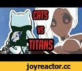 """Attack on Titan but with CATS - """"Attack on Katsu"""" - Fan Animation,Entertainment,fight,animation,dillongoo,dillon,goo,katsu,cat,attack on titan,attack on katsu,attack,titans,titan,cats,parody,attack on cats,attack with cats,attack on mercy,attack on overwatch,cats vs titans,cats attack titans,survey"""