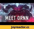 Meet Ornn, the Fire Beneath The Mountains | League of Legends Champion Reveal,Gaming,Riot Games,Riot,League of Legends,League,LoL,MOBA,ornn,freljord,fire beneath the mountains,new champion,ornn reveal,meet ornn,top,toplane,top-lane,gameplay,demi-god,blacksmith,forge,Learn More about Ornn: