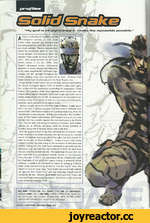 "T MM E l ""My goal is straightporuiard. A veteran ex-Fox-Hound member with an intelligence quotient of 180. Solid Snake's rather nomadic past existence and psychological profile made him perfect as a past deep operative. Previous missions have shown his exceptional ability to enter any enemy st"
