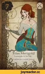____L____J_ Triss Merigold Fourteenth Of The Hill w'T can take care of myself. Trust me.1