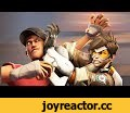 Overwatch vs. TF2 [SFM],Film & Animation,Overwatch,Team Fortress 2,TF2,Source Filmmaker,SFM,Source Film Maker,Crossover,Valve,Blizzard,Action,Animation,Comedy,Tracer,Scout,Genji,Mercy,Brigitte,The age old rivalry will be settled once and for all! Become a patron!