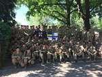 """Штурм украинской В/Ч в Феодосии """"вежливыми людьми"""" российского происхождения,Film & Animation,,Штурм 1-го батальона морской пехоты ВМСУ в Феодосии, в/ч А2272 Крым, Феодосия.  9 апреля 2014 года 1-ый батальон морской пехоты ВМС Украины, который базируется в Феодосии, был заблокирован вооруженными люд"""