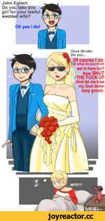 my God damn sexy groom.