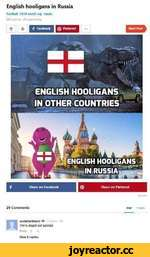 English hooligans in Russia football 2018 world cup russia 347 points • 29 comments f Facebook0 Pinter«1• • • ENGLISH HOOLIGANS < IN RUSSIA I RIP«7 29 Comments Hot Fresh 5cottm3rtinsmi •+■ We're stupxl not suicidal Reply *4* View 6 replies