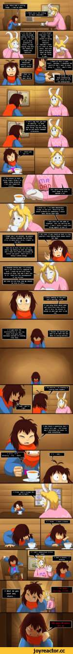 * So, Chara had it pretty tough. .. I had no idea. ..
