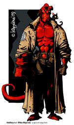 Hellboy Is © Mike Mlgnola - a god among men