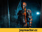 Deathstroke in club