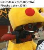 Nintendo releases Detective Pikachu trailer (2018)