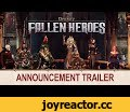 Divinity: Fallen Heroes - Announcement Trailer,Gaming,Diviniry: Fallen Heroes,Fallen Heroes,Larian,Larian Studios,DOS2,Divinity,Tactical,RPG,Strategy,Upcoming strategy games 2019,new strategy games 2019,Xcom like games,Turn-based strategy,coop games,PC,Who will rise to command the fallen?