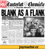 "MY LITTLE PONY FEATURE ON PAGE 3 THE SAGGITARILS SOCIETY OF ART, MUSIC AND (fanterltrt o (Clmmirlc Monday, April 4, 1983 No. 0001 Price 3 bits Weekly BLANK AS A FLANK JUDGES DISQUALIFY ""LITTLE SPARKS IN DRAGON SHENANIGAN FlMhtacfc 1» 1n*< u«vk'* Grand Galloping(killh*td al lit«: Maje «lie"
