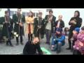 Козак Сіромаха грає на фісгармоніці,Sports,Дух Нації,Масляна,Містечко для переселенців,Козак Сіромаха створює святкову атмосферу козацькою піснею та грою на фісгармоніці