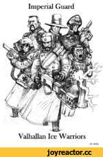 Imperial Guard Yalhallan Ice Warriors