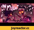 "OH MILLIE (Official Music Video) -Helluva Boss,Film & Animation,Vivziepop,Helluva Boss,Richard Horvitz,Erica Lindbeck,HAPPY VALENTINES DAY!! Thank you SO much for 3 Million subscribers!! AHHH Get your Limited Edition ""Oh Millie"" apparel HERE ► http://bit.ly/39DmHCy Song by Parry Gripp Featuring vo"