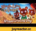 NOOK LINE & SINKER | Animal Crossing: New Horizons Song!,Music,Animal,Crossing,New,Horizons,Tom,Nook,Isabelle,Switch,Nintendo,Stupendium,In Nintendo's Animal Crossing: New Horizons you are once more tasked with guiding a gaggle of fuzzy friends to prosperity via the medium of hunting for insects,
