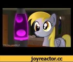 Derpy Loves her Lava Lamp (with sound!),Film,my,little,pony,derpy,hooves,ditsy,doo,mlp,lava,lamp,A slightly tweaked and updated version of the original, plus an awesome soundtrack courtesy of ~ArtisticRender97 over at Deviantart (http://artisticrender97.deviantart.com/).  DeviantArt mirror: