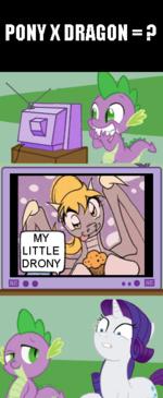 PONY X DRAGON = ?,my little pony,Мой маленький пони,mlp комиксы,Spike,Спайк,Rarity,Рэрити. mlp комиксы...