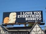 I LOVE YOU EVERYTHING BURRITO ORIGINAL