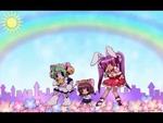 "Nyan Cat! (AMV News: Big Contest 2012),Film,,Author: Elia ""New Line Studio"" Music: The Icarus Kid - Nyan Cat (Rainbow Poptart Remix) Anime: DiGi Charat, DiGi Charat Panyo Panyo, Nyan Koi!, Pita Ten,Tokyo Mew Mew, Twin Angel: Twinkle Paradise, Kyouran Kazoku Nikki, Omamori Himari, Fairy Tail OVA,"