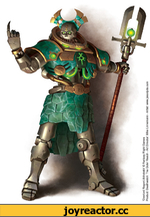 'Overlord Regent Ahhotekh* © Fantasy Flight Games Product Deathwatch: The Outer Reach - Art Director: Mice Linnemann -
