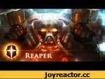 """Reaper"" - SpeedPainting by TAMPLIER,Games,,Finished image: http://tamplierpainter.deviantart.com/art/Reaper-364328556?q=gallery%3Atamplierpainter&qo=0"