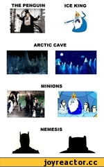 THE PENGUIN	ICE	KING