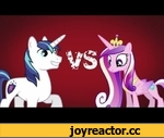 Epic Rap Battles of Pony - Shining Armor VS Princess Cadence,Entertainment,,Shining Armor(Adam) vs Princess Cadence(Eve)  Original video http://www.youtube.com/watch?v=liLU2tEz7KY