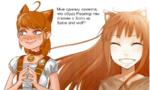 Мне одному кажется, что образ Реактор-тян спижен с Холо из Spice and wolf?