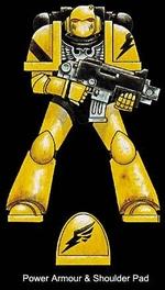 Power Armour & Shoulder Pad