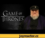 """George R.R. Martin """"Game Of Thrones"""" Spoilers,Entertainment,,In leaked footage, the author of """"A Song of Ice and Fire"""" drops some MASSIVE plot bombshells.  More George R.R. Martin video @ http://teamcoco.com/category/tags/game-thrones"""