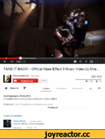 TAKE IT BACK! - Official Mass Effect 3 Music Video by Mira.
