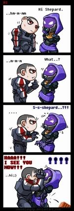 Hi Shepard What..? S-s-shepard..??f