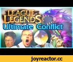 League of Legends: Ultimate Conflict,Entertainment,,Questions? Comments? Come talk to us on this Reddit thread! http://www.reddit.com/r/leagueoflegends/comments/1k23ib/league_of_legends_ultimate_conflict_irl_video/  tweet us! http://twitter.com/rizenvisual or  Like us!