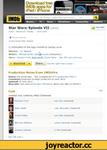 Download free IMDb apps for iPad/iPhone