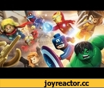 Lego Marvel Super Heroes - Gamescom trailer OFFICIAL UK | HD,Film,,LEGO® Marvel™ Super Heroes are back, this time revealing the brick-building plot of the game, with an all-new new trailer just in time for Gamescom! Do you have what it takes to destroy Dr. Doom and his Dr. Doom Doomray of Doom?  See